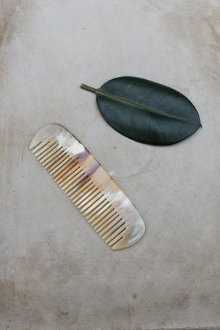Cow Horn Comb
