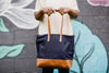 Abera Crossbody Canvas Navy for Women - Purses & Handbags - WAR Chest Boutique
