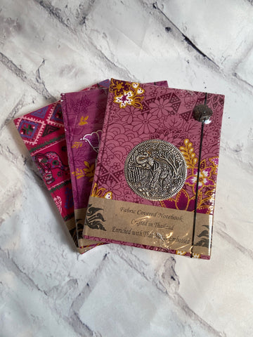 Small Fabric Covered Journal