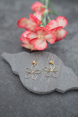 Delicate Daisy Earrings