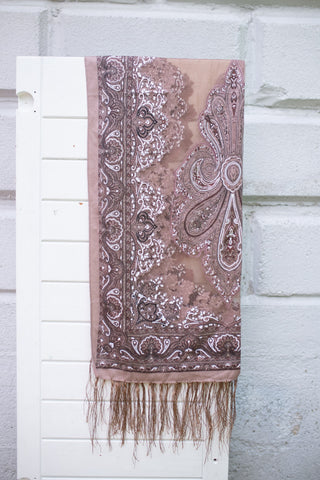 Celeste Brown Scarf
