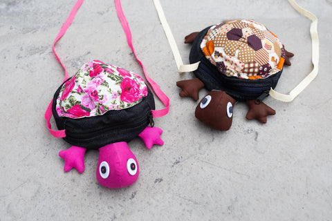 Children's Turtle Bag