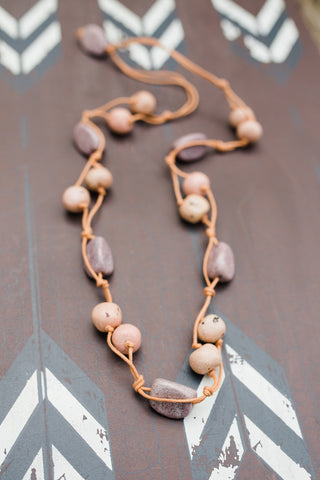 Neutral Stoney Brook Necklace