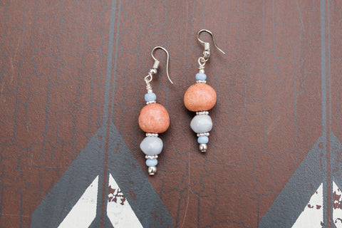 Pastel Ceramic Earrings