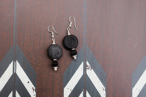 Midnight Geo Earrings