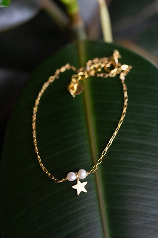 Star Pearl Anklet