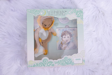 Lion Sleepyhead Gift Set
