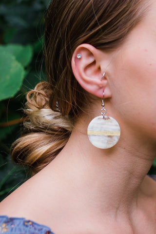 Golden Horizon Earrings