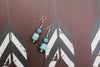 Teal Dream Earrings