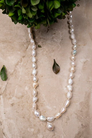 Pearls w/Pendant Necklace