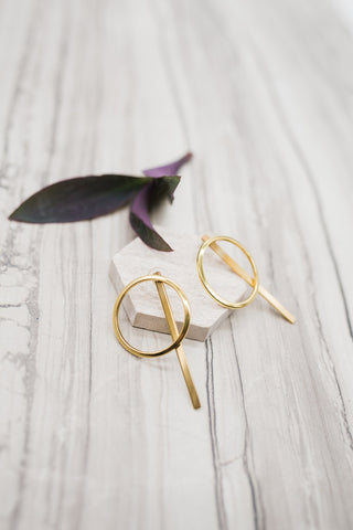 Unison Earrings - Gold