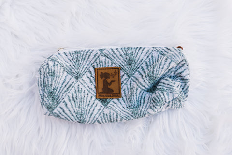 Teal Sunray Pouch