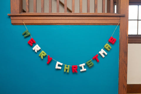 Merry Christmas Garland