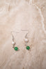 Jade and Pearl Earrings