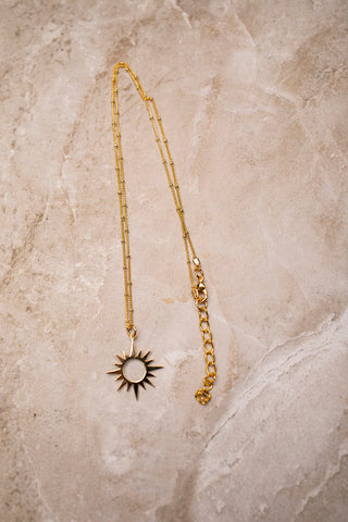 Satellite Sun Necklace