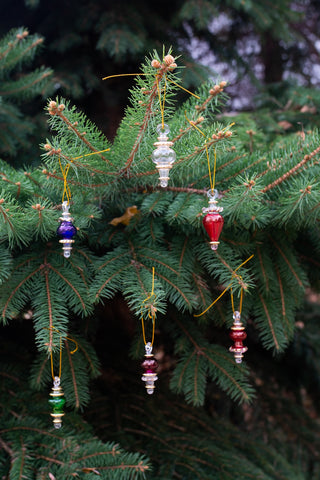 Small Assorted Glass Ornaments