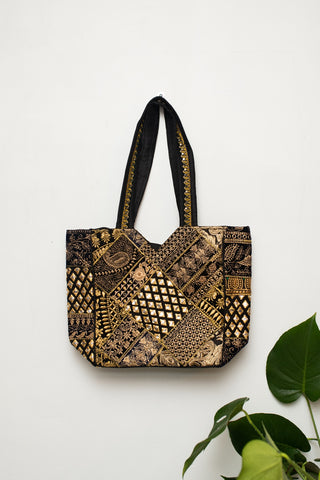 Rojstani Bag Black and Gold