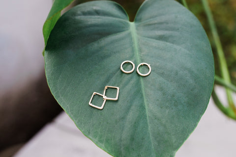 Geometric Earrings Assortment