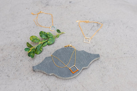 Geometric Bracelet Assortment