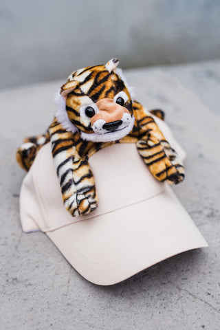 Childrens Leopard Cap