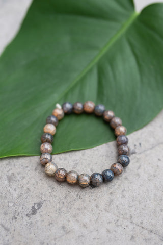 Glass Light Grey Bracelet