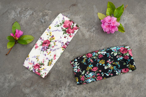 Floral Print Headbands - Various