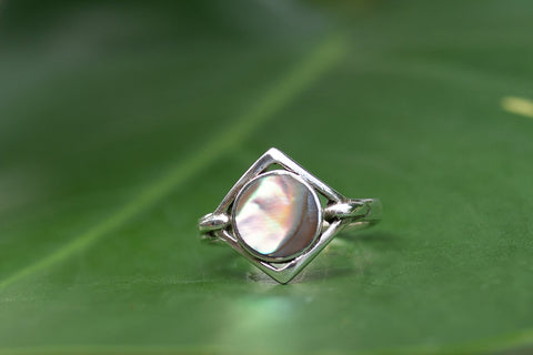 Abalone & Sterling Silver Ring