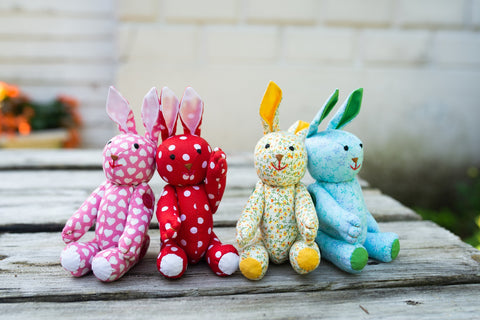 Bunny with Buttons - Assorted