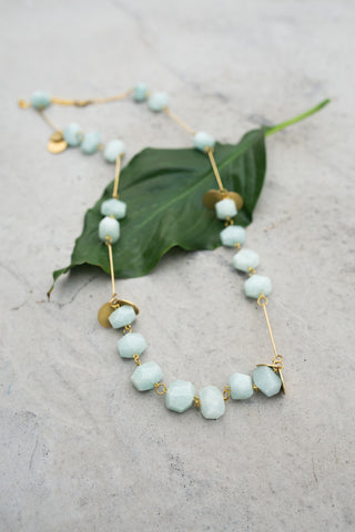 La Roma Mint Necklace