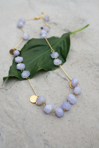 La Roma Necklace - Lilac