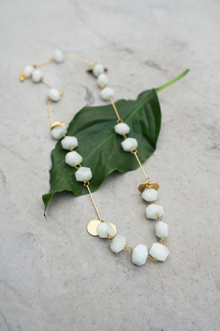 La Roma Necklace - Mist