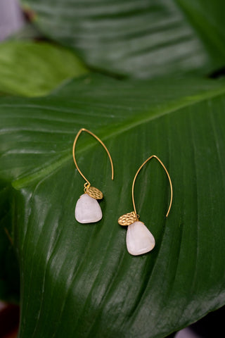 Easy Elegance Earrings - Agate