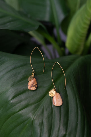 Easy Elegance Earrings - Jasper
