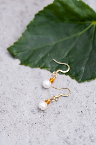 November Birthstone Earrings