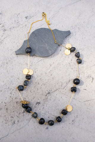 Black Hawkeye Necklace