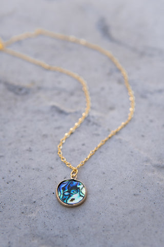 Waves of Gold Necklace