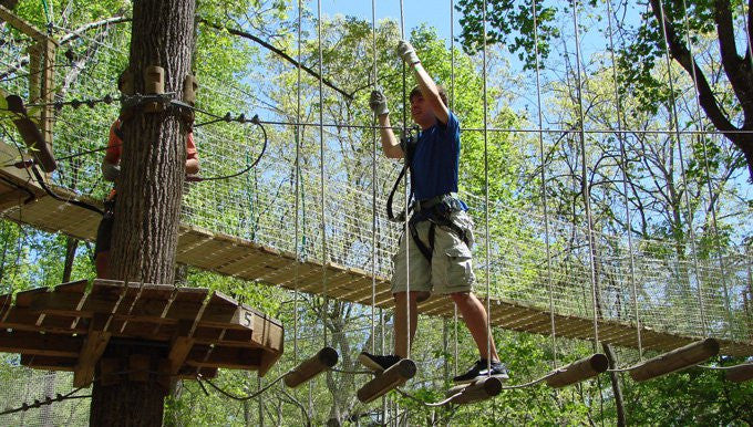 Treetop Quest at Brook Run in Dunwoody
