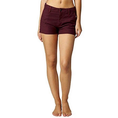 Fox Women's ASAP High Waisted Shorts Burgandy S08712-448