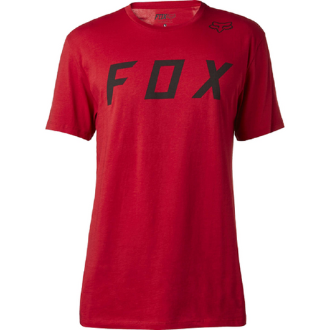 Fox Men's Moth Premium Tee Cranberry 18830-527 - Left Coast Threads