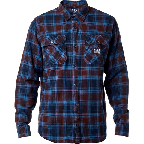 Fox Men's Traildust Flannel Navy 19707-007