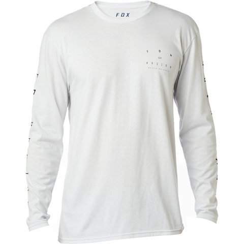 Fox Racing Orions Men's Long Sleeve Basic Tee Light Heather Grey 20420-416 - Left Coast Threads