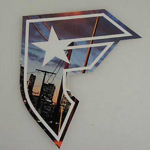 "Famous 5"" Logo Decal City Print"
