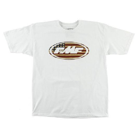 FMF Men's American The Great Tee White SP7118919 - Left Coast Threads