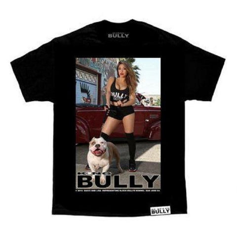 Bully Men's Gucci Black Tee Shirt