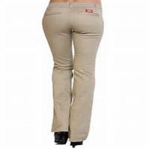 Dickies Girls Dickie The Worker Pants N882KH Khaki