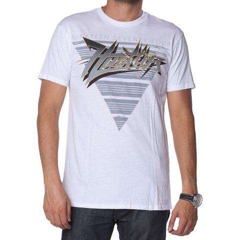 Hustler Phantom Mens White Slim Tee MR3055