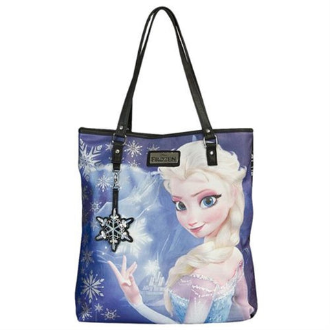 Loungefly Disney Frozen Snow Queen Elsa Tote Bag Purse