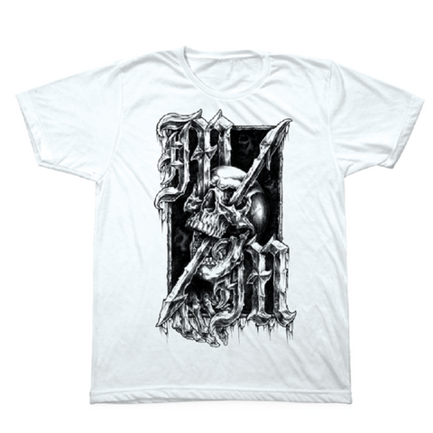 Metal Mulisha Mens Impale Tee Shirt White MM4751819