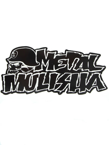 Metal Mulisha Iconoclast 8 Inch Black Sticker Decal