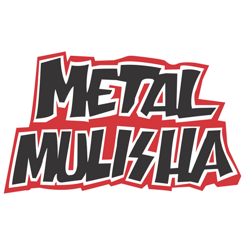 Metal Mulisha Deegan 3 INCH Sticker Black & Red